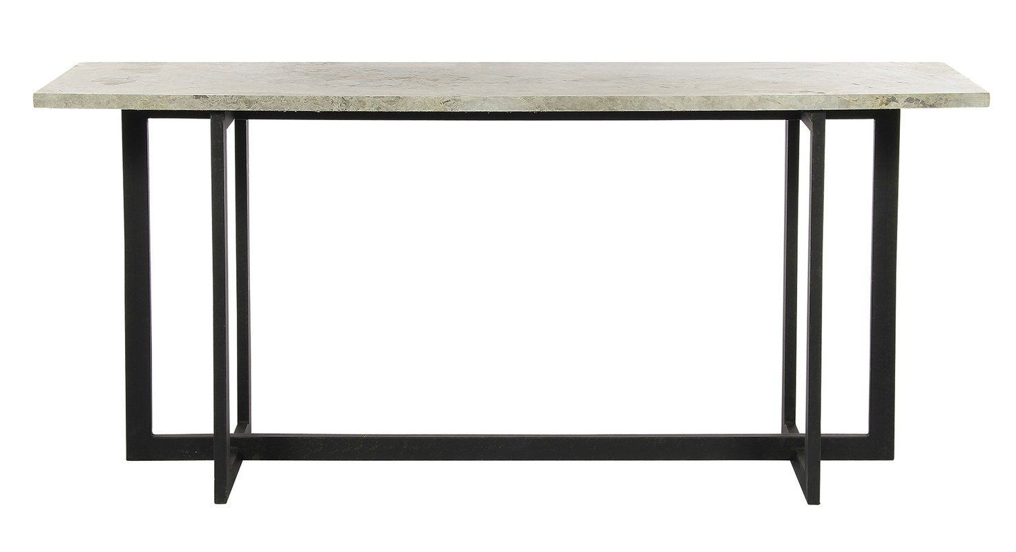 Squared Console Table | Table Saws | Pinterest | Console Table Regarding Silviano 60 Inch Iron Console Tables (View 19 of 20)