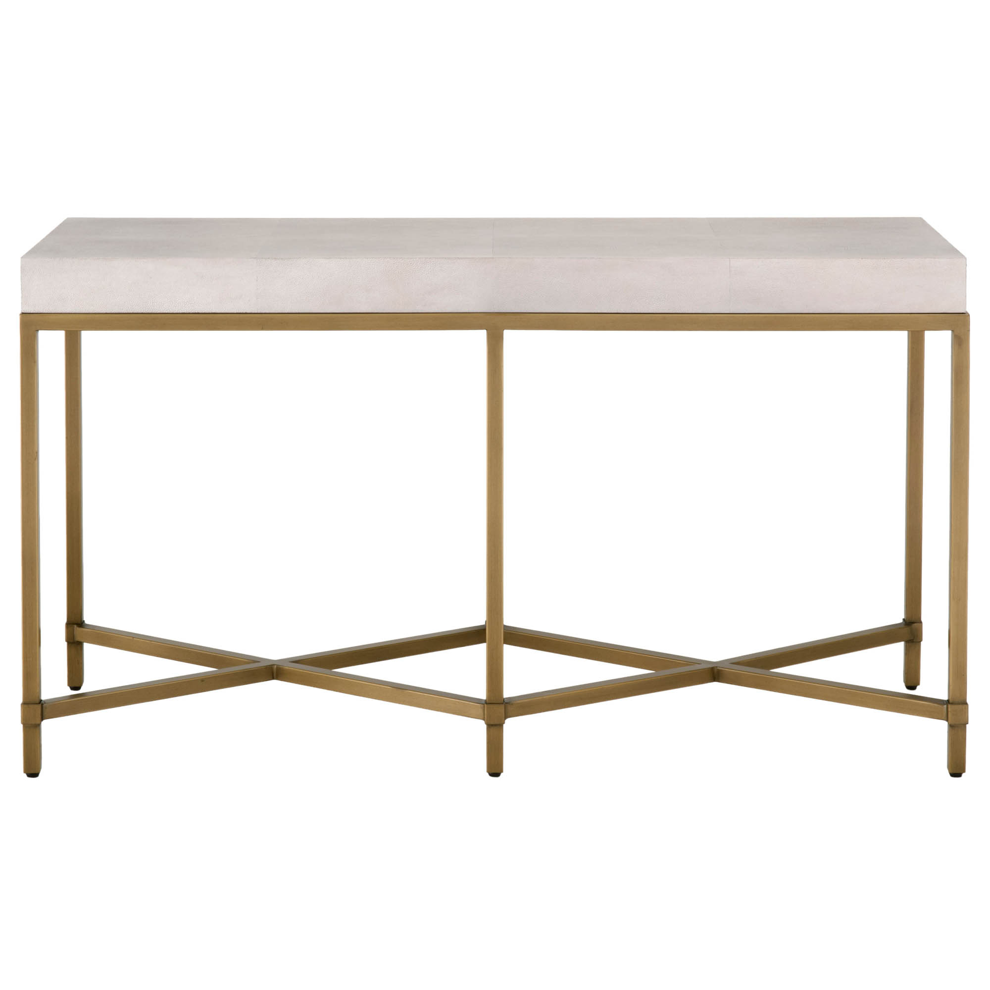 Strand Shagreen Console Table Within Faux Shagreen Console Tables (View 12 of 20)