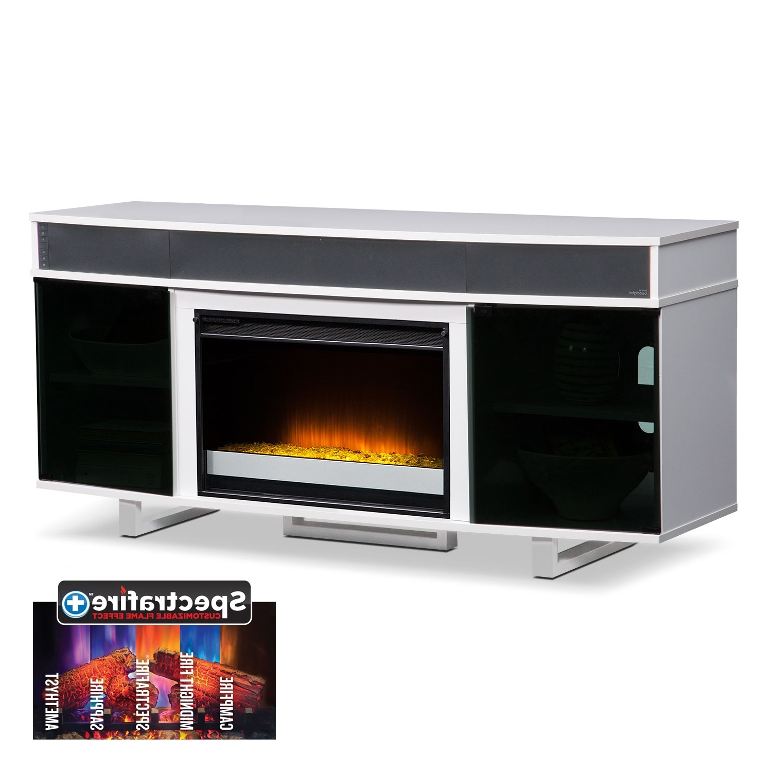T V Stands & Media Centers | Value City With Preston 66 Inch Tv Stands (View 18 of 20)