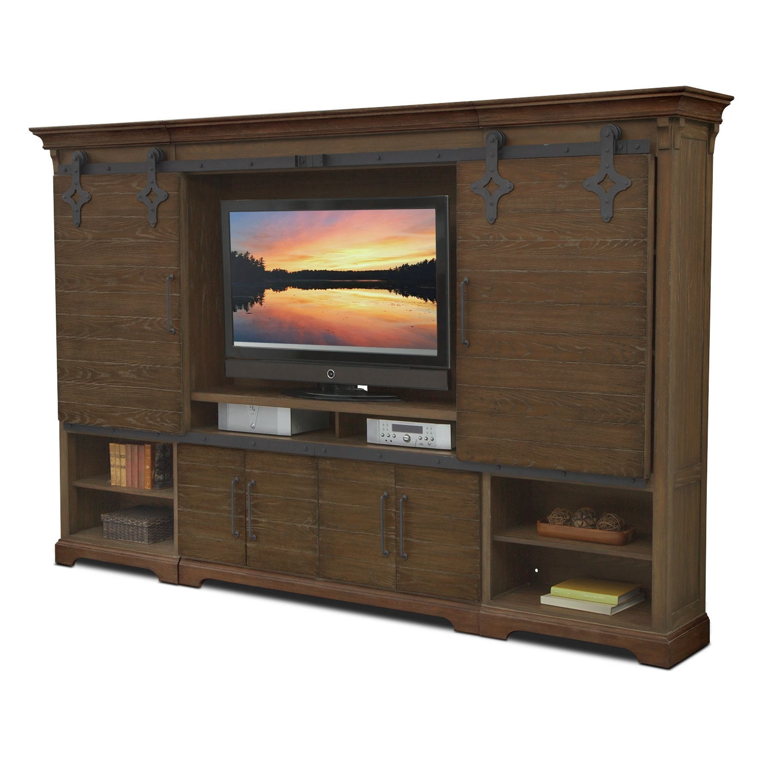T V Stands & Media Centers | Value City Within Preston 66 Inch Tv Stands (View 3 of 20)