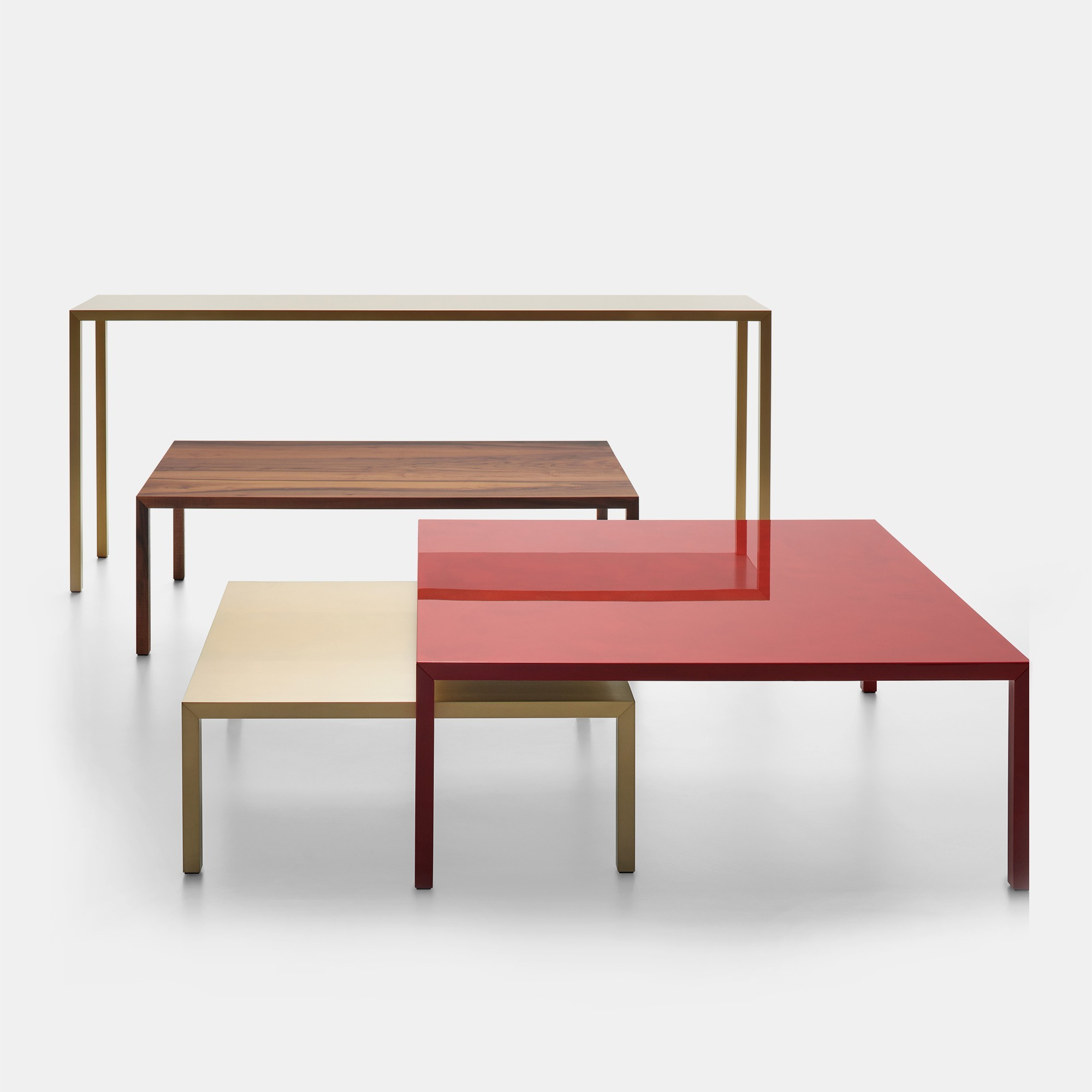 Tense Table Celebrates Its 10th Anniversary With New Dimensions And Pertaining To Intarsia Console Tables (View 18 of 20)