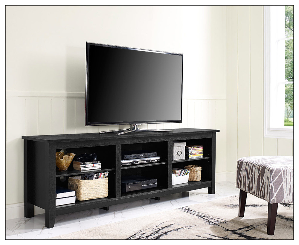 The Tv Stand Tv Cart Plus To Screen Vivous To Awesome Most Tvs Up To Intended For Annabelle Black 70 Inch Tv Stands (Gallery 10 of 20)