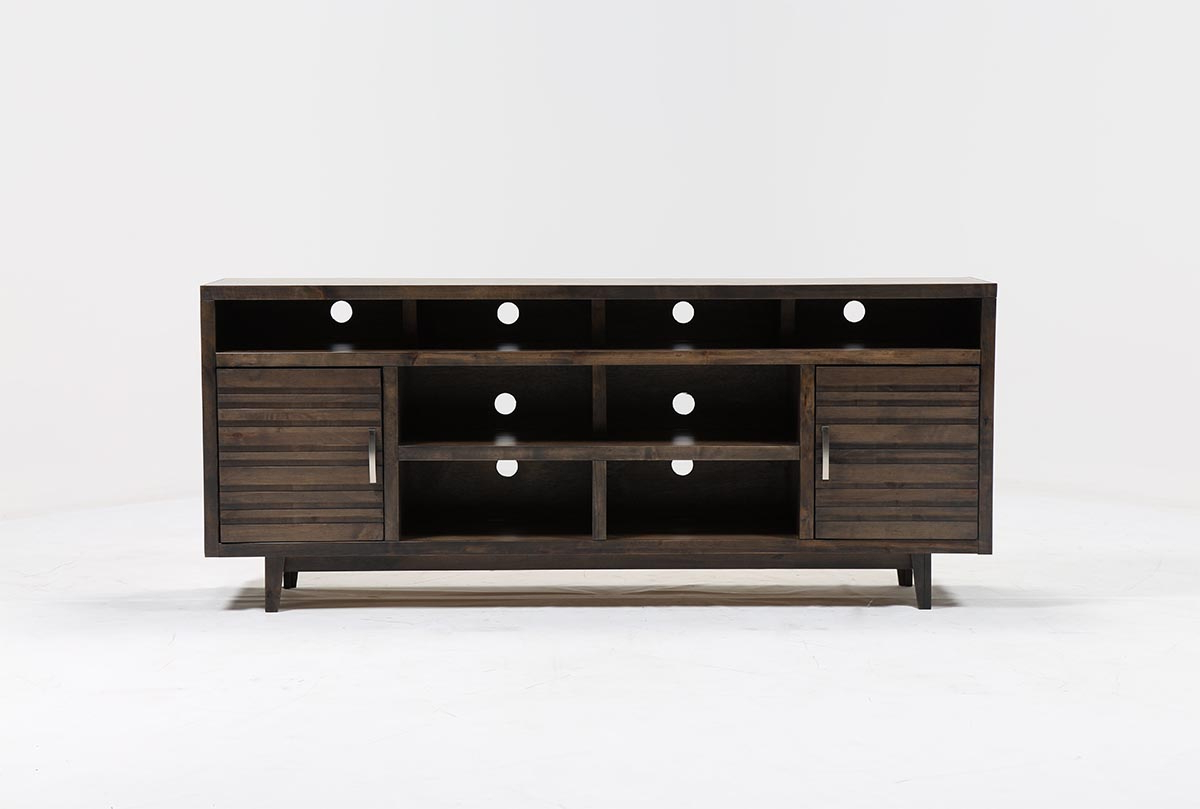 Thorndale 84 Inch Tv Stand Living Spaces Black Lacquer Console Table Regarding Silviano 84 Inch Console Tables (View 19 of 20)