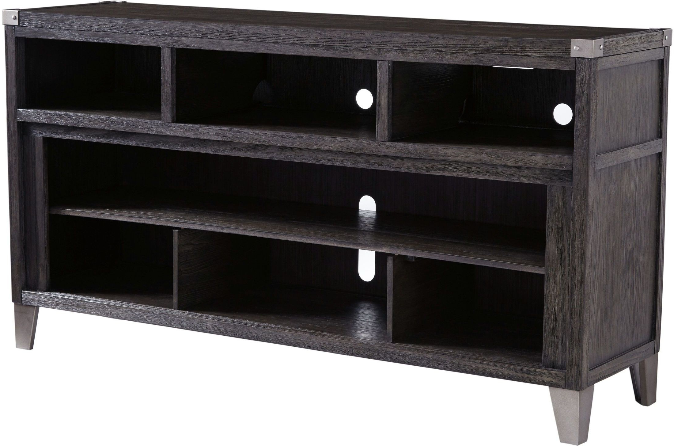Todoe Gray Lg Tv Stand From Ashley | Coleman Furniture In Vista 68 Inch Tv Stands (View 8 of 20)