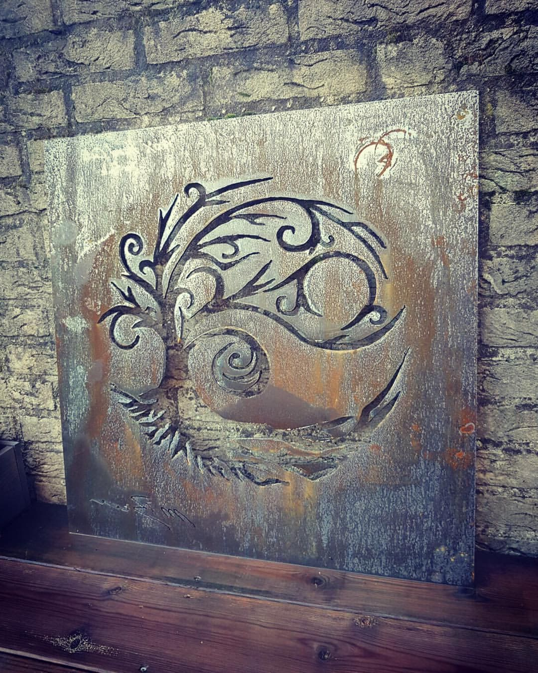 Tree Wall Art | Metal Booth | Metal Tree Wall Art, Tree Wall Art Intended For Moraga Live Edge Plasma Console Tables (View 11 of 20)