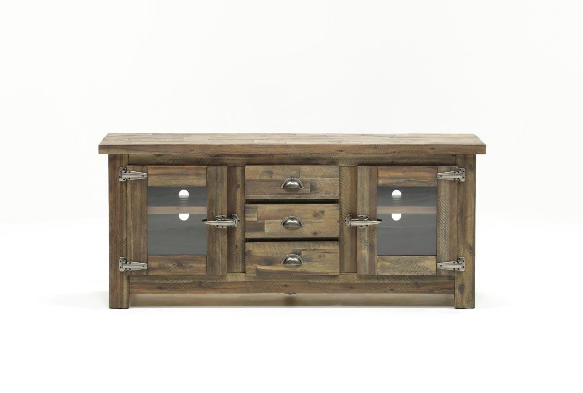 Trendy Canyon 74 Inch Tv Stand Living Spaces Tv Stand For Canyon 74 Inch Tv Stands (View 7 of 20)