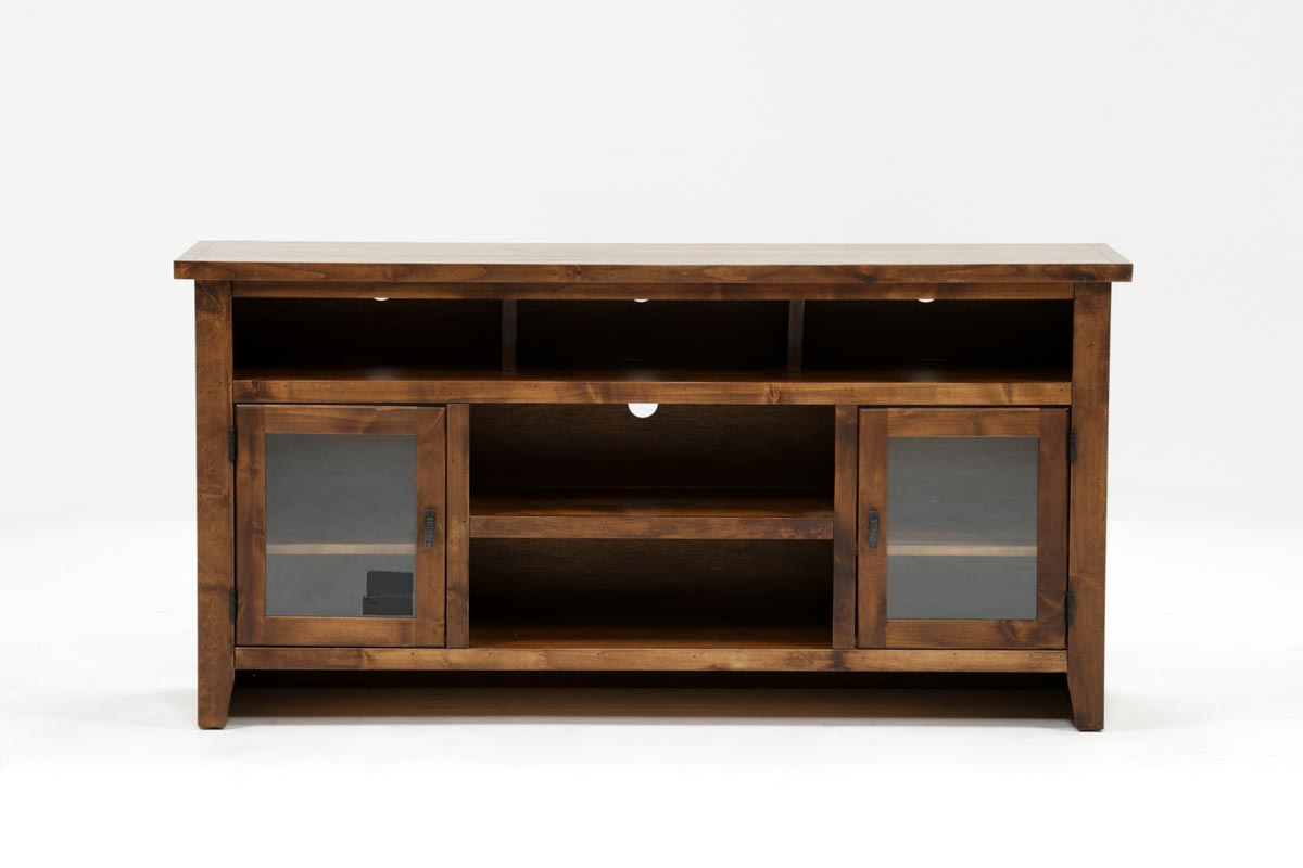 Trent 65 Inch Tv Stand | Living Spaces Intended For Forma 65 Inch Tv Stands (View 17 of 20)