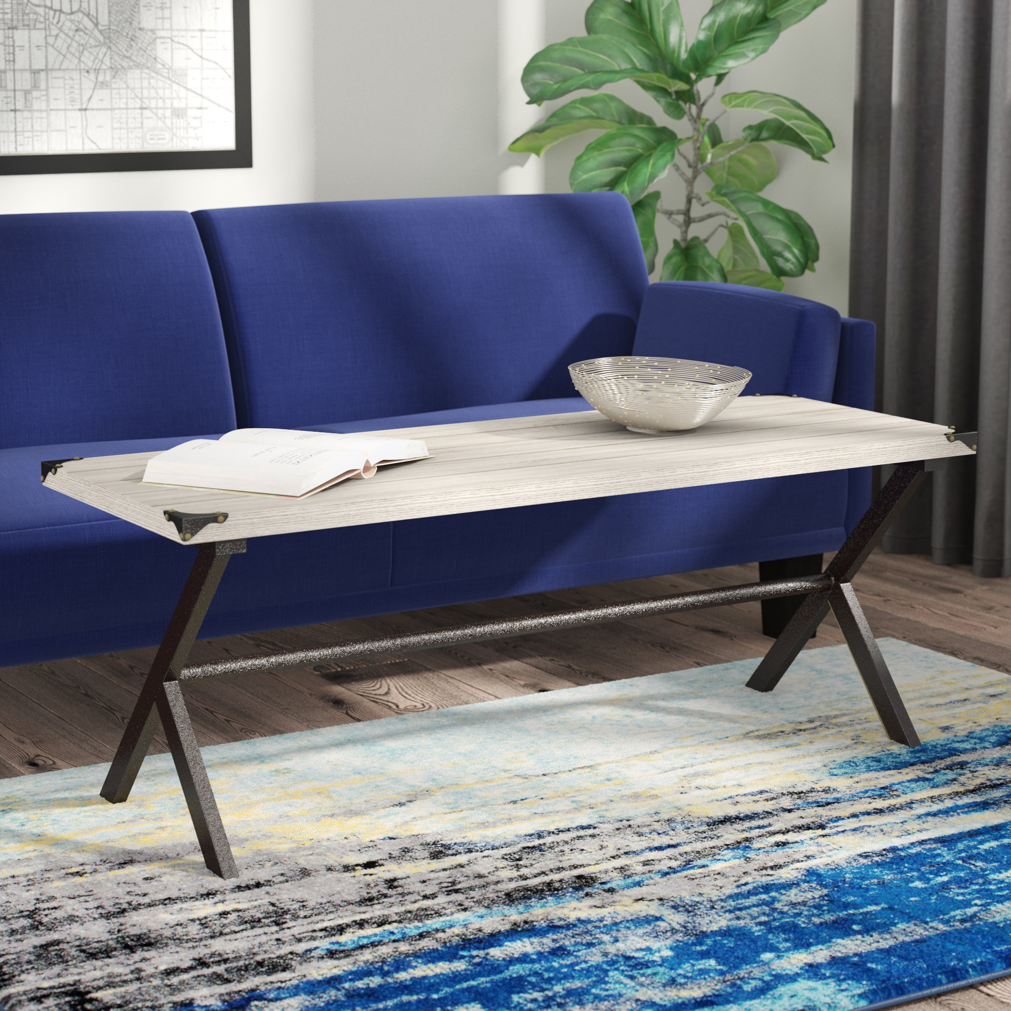 Trent Austin Design Kyra Coffee Table & Reviews | Wayfair With Kyra Console Tables (View 15 of 20)