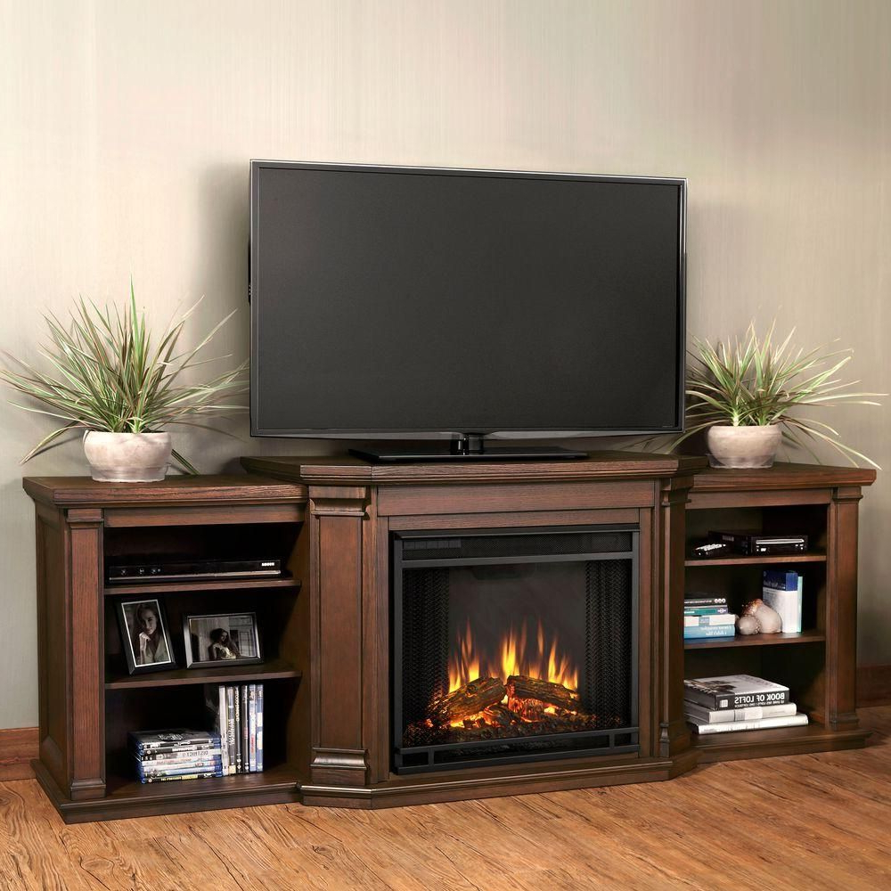 Trinell Fireplace Tv Stand | Tv Stands | Living Room, Entertainment Intended For Abbott Driftwood 60 Inch Tv Stands (View 19 of 20)