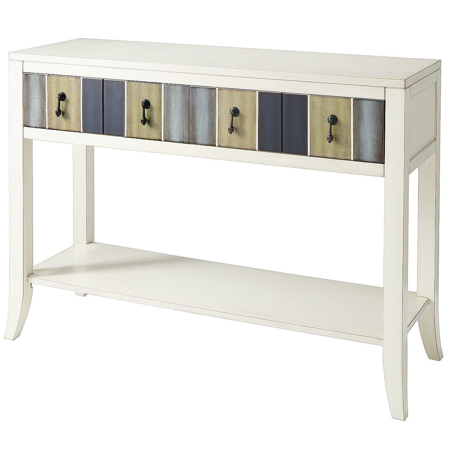 Truett Console Table | Console Tables | Pinterest | Console Tables Pertaining To Parsons Grey Solid Surface Top & Stainless Steel Base 48X16 Console Tables (Gallery 3 of 20)