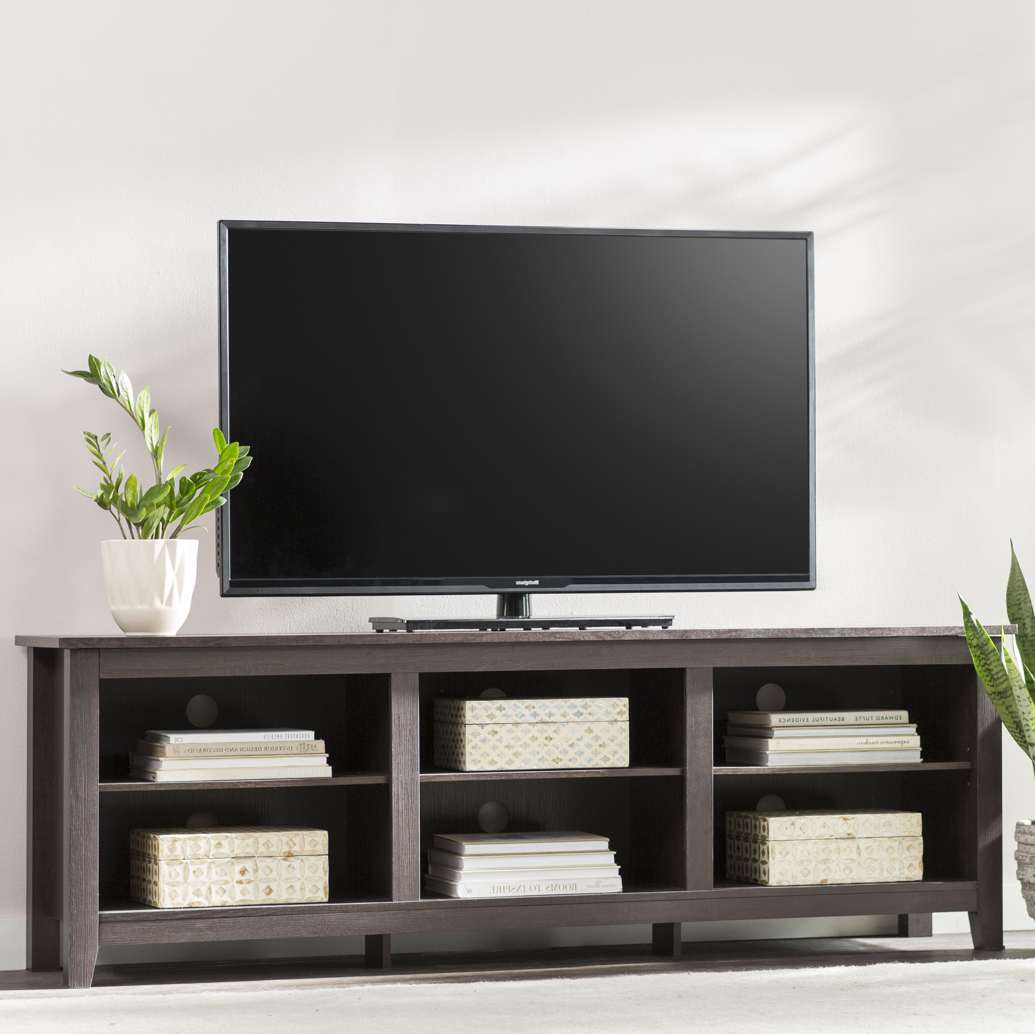 Tv Stand For 65 Inch Tv Corner   Wayfair Throughout Century White 60 Inch Tv Stands (View 13 of 20)