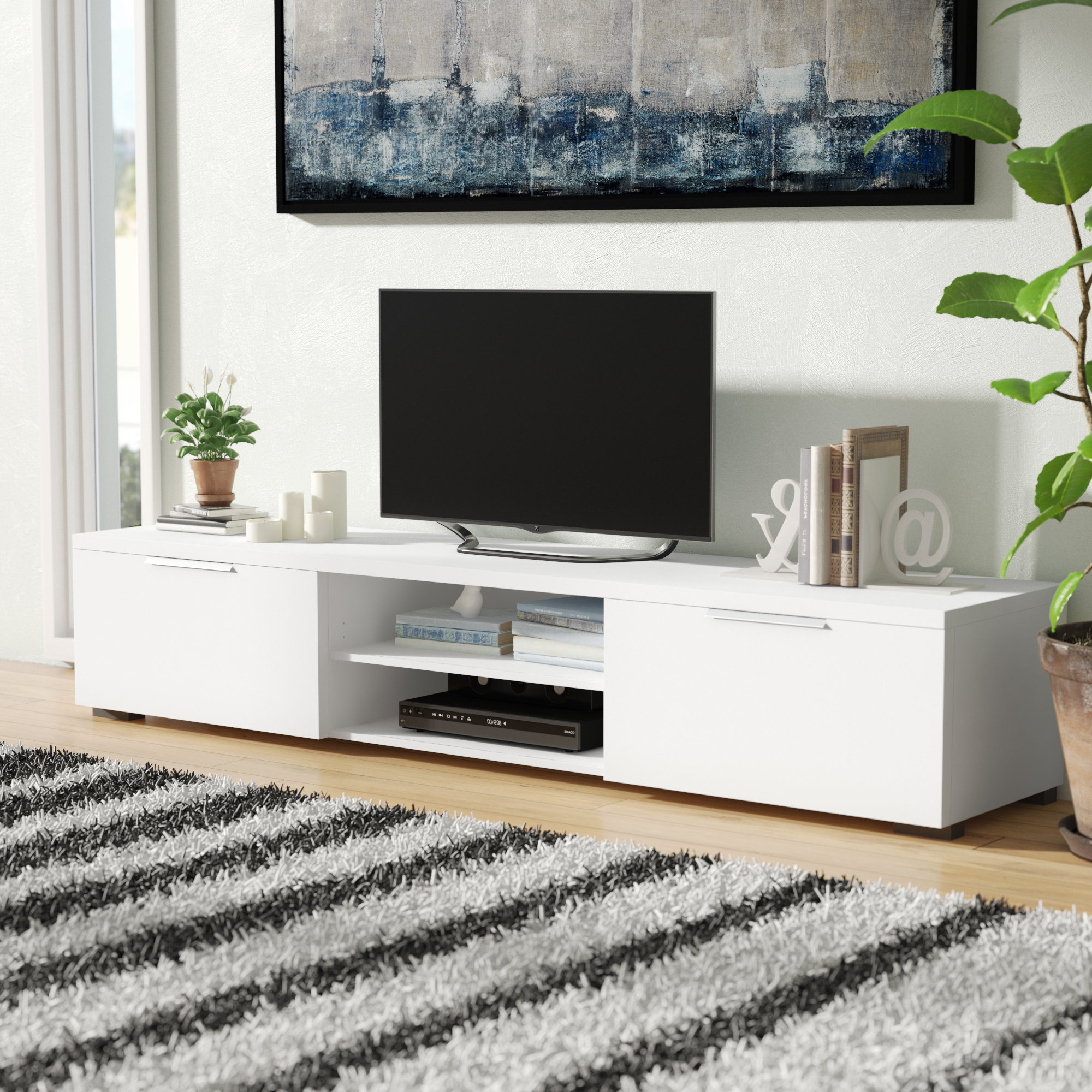 Tv Stand For 75 Inch Tv | Wayfair Pertaining To Laurent 70 Inch Tv Stands (View 18 of 20)