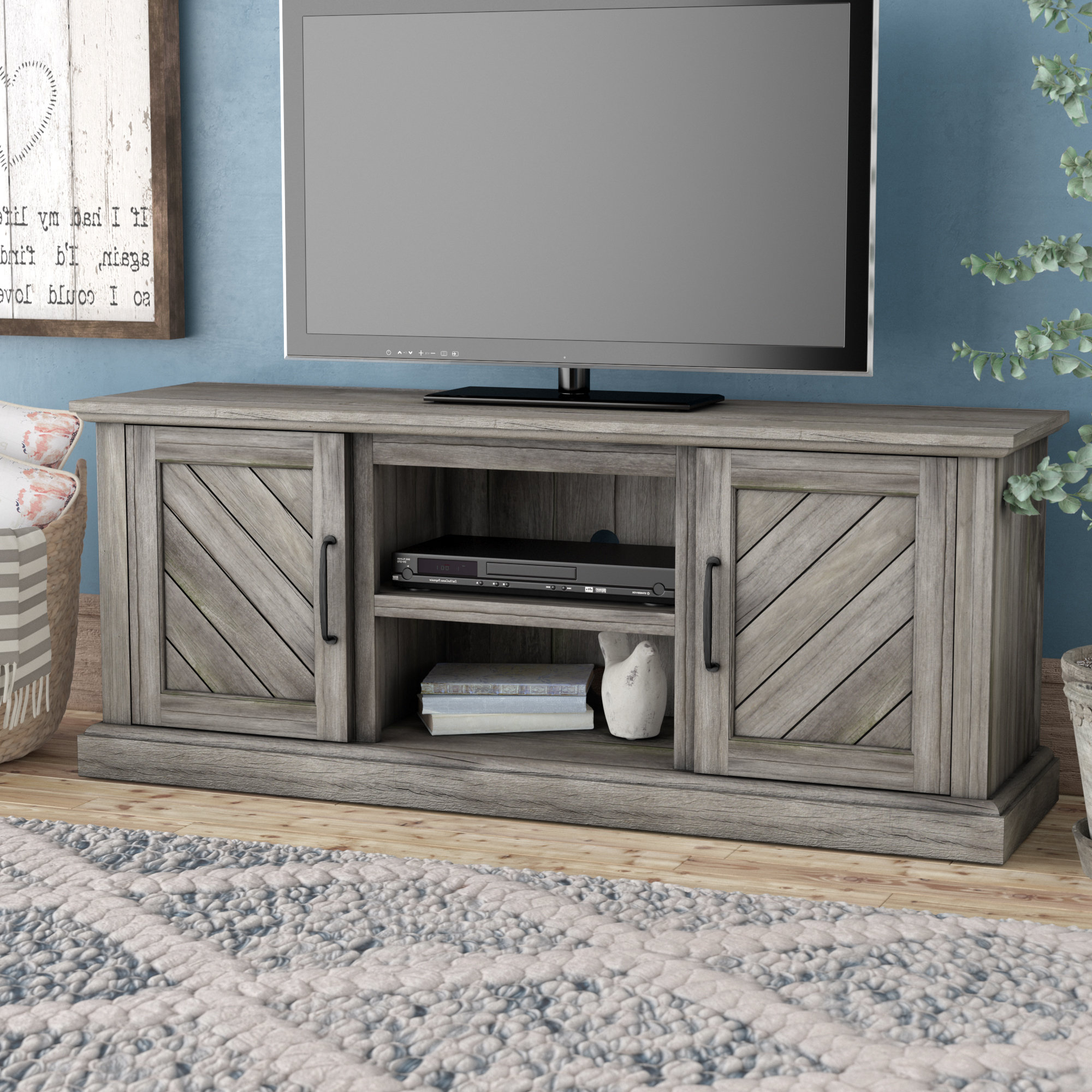 Tv Stand For 75 Inch Tv | Wayfair Within Laurent 60 Inch Tv Stands (View 19 of 20)