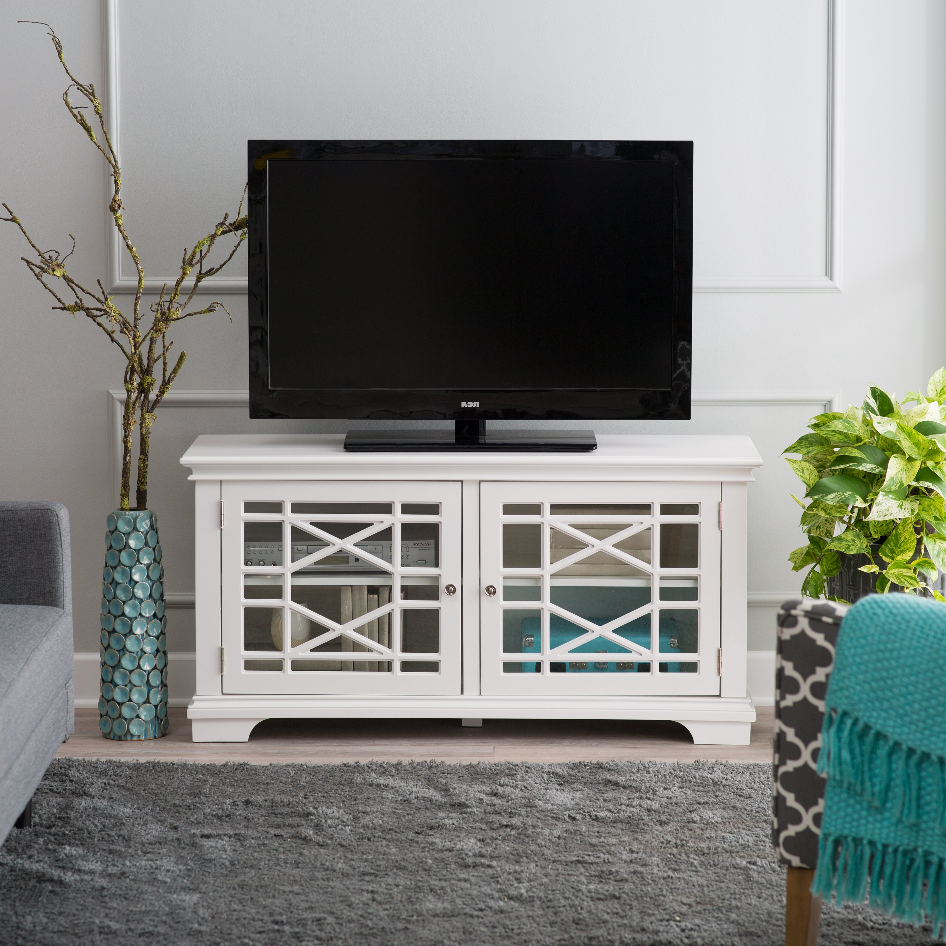 Tv Stands & Entertainment Centers | Hayneedle With Laurent 50 Inch Tv Stands (Gallery 20 of 20)