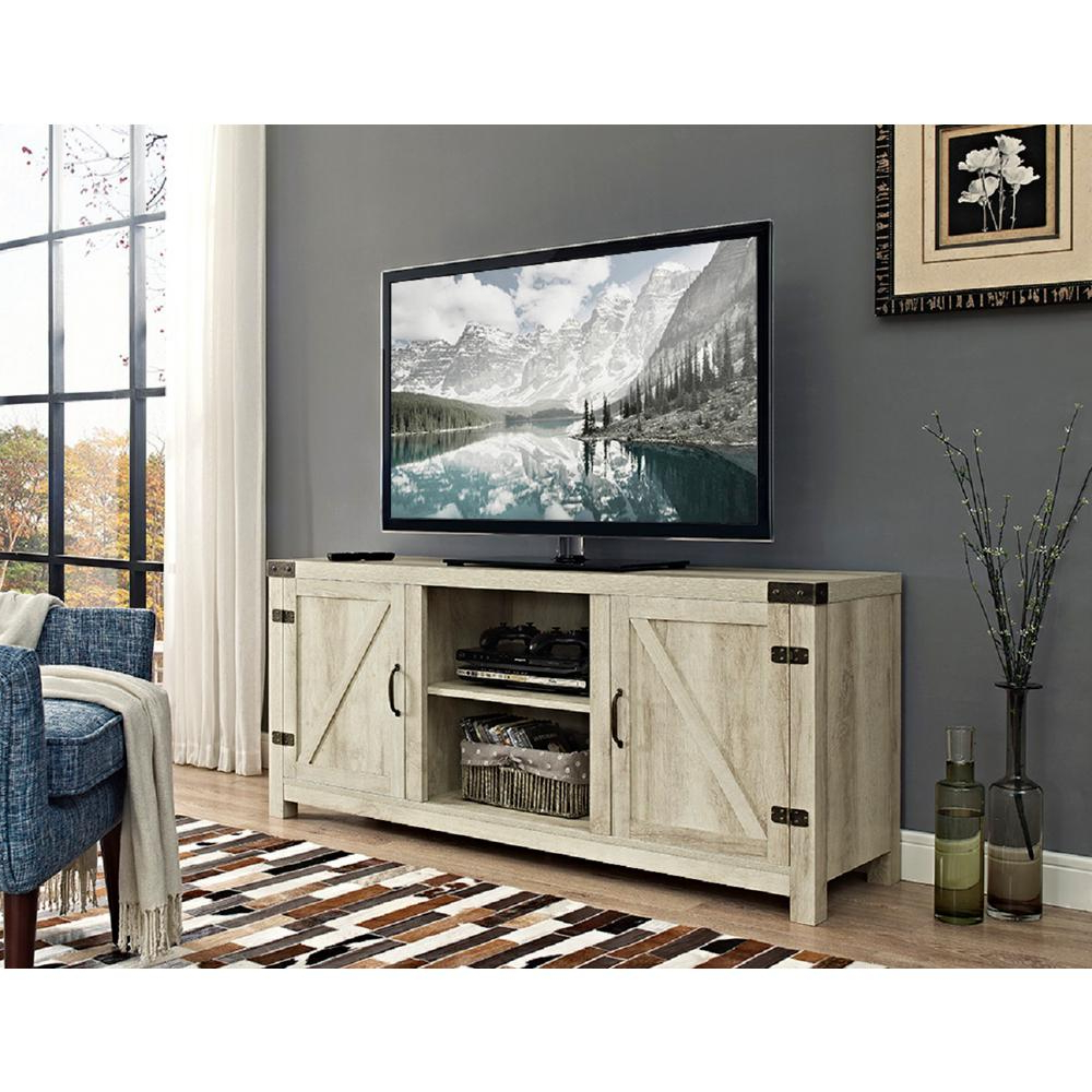 Tv Stands – Living Room Furniture – The Home Depot In Oxford 84 Inch Tv Stands (View 20 of 20)