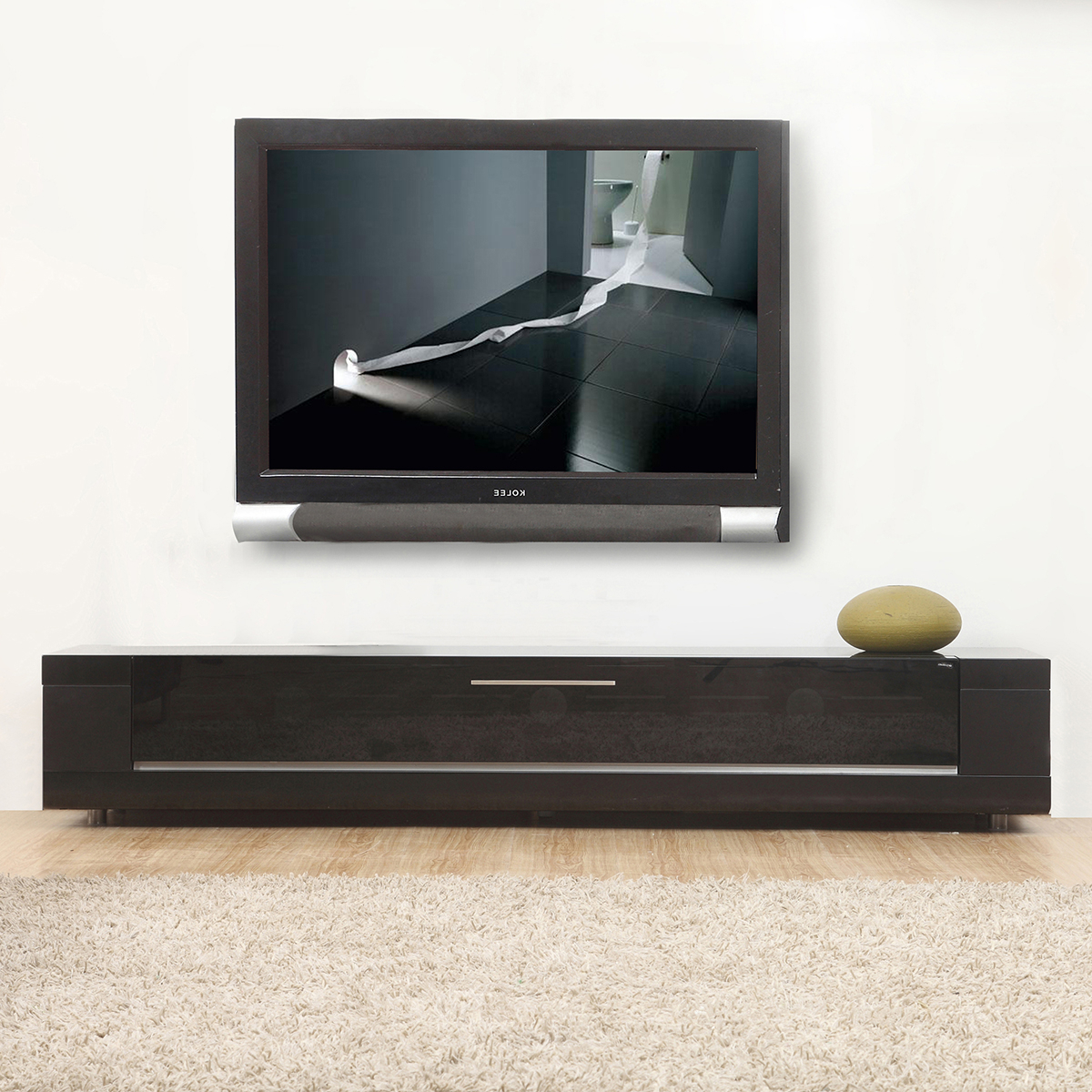 Tv Television Stands 71 & Wider Throughout Noah Rustic White 66 Inch Tv Stands (View 10 of 20)