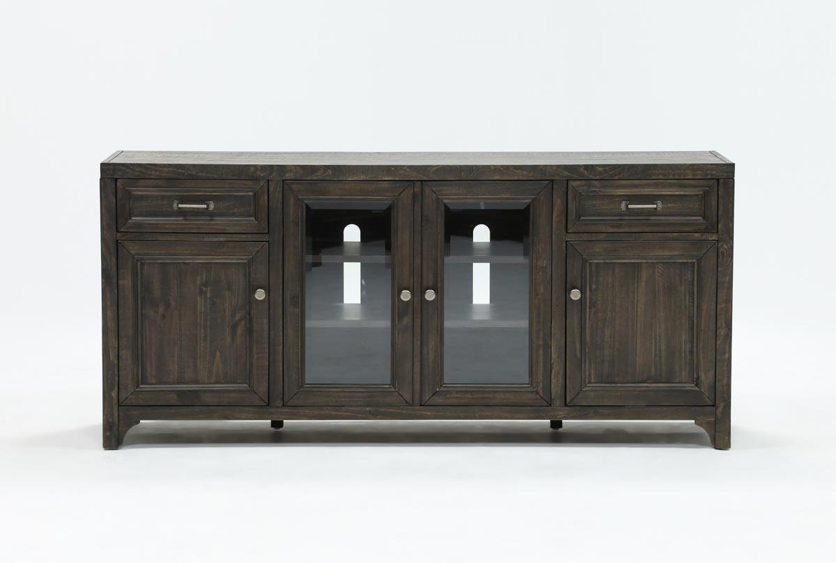 Valencia 70 Inch Tv Stand | Living Spaces Throughout Laurent 50 Inch Tv Stands (View 19 of 20)