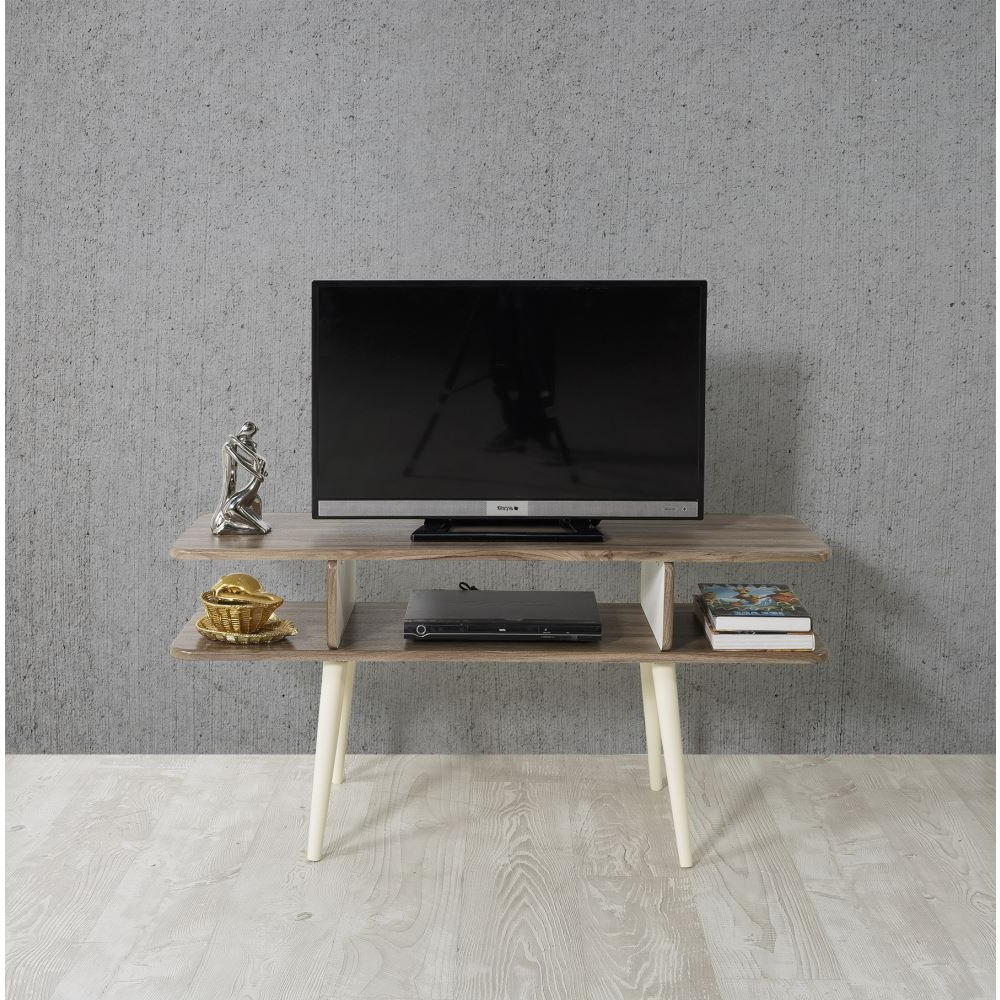 Veys Bulmaca Tv Sehpası Ceviz | Tekzen Within Cato 60 Inch Tv Stands (View 19 of 20)
