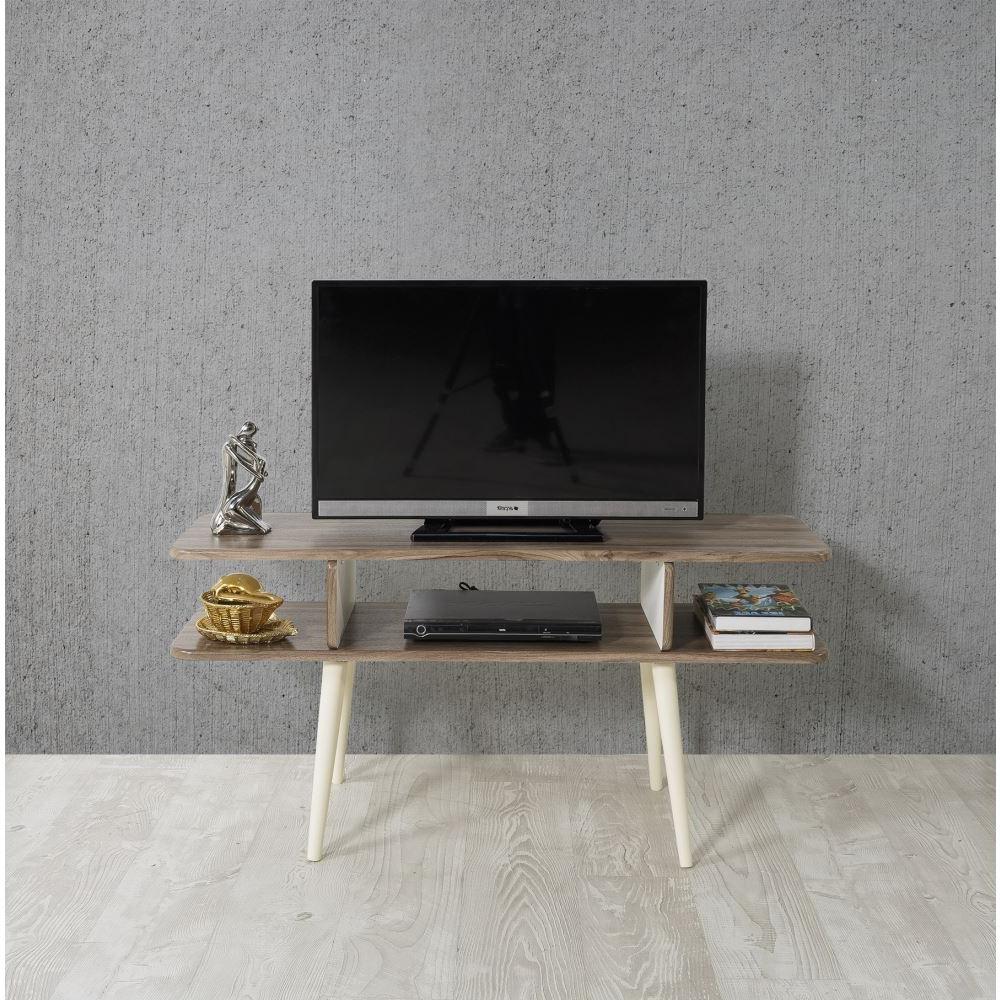 Veys Bulmaca Tv Sehpası Ceviz | Tekzen Within Cato 60 Inch Tv Stands (View 6 of 20)