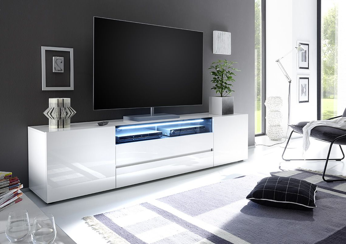 Vicenza 203 – Lowboard Tv Stand | For The Home | Tv Cabinets, Tv Regarding Dixon White 65 Inch Tv Stands (View 6 of 20)
