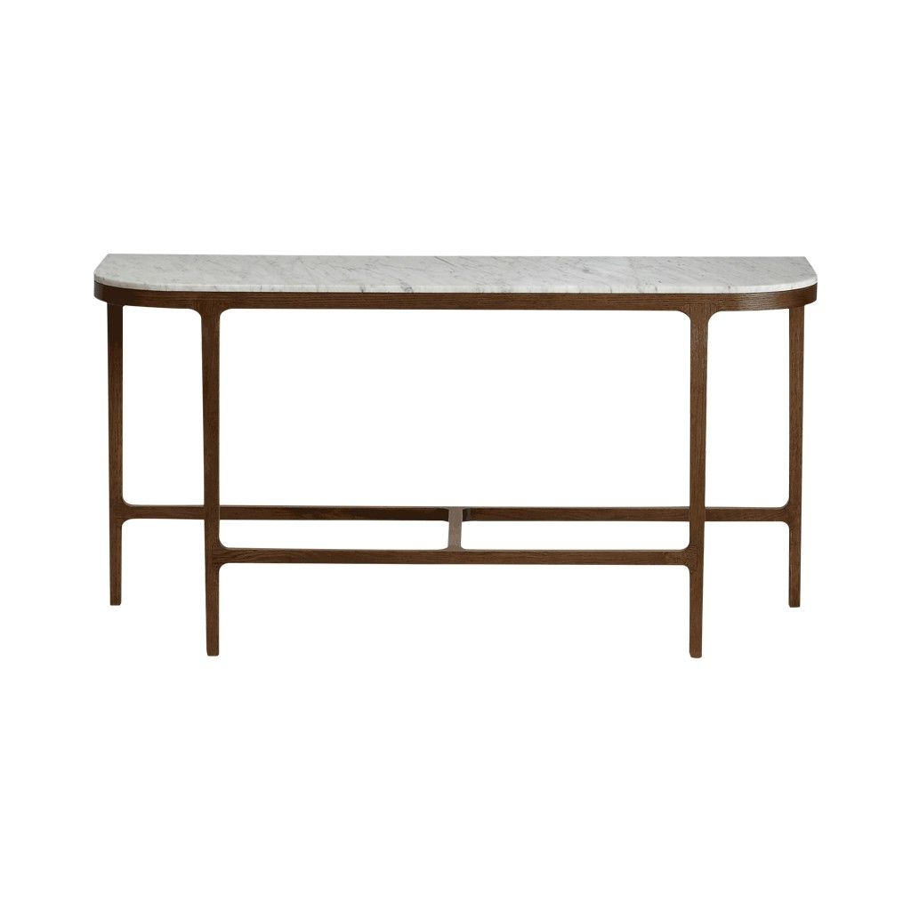 Victoria Marble Console Table | Marble Console Table, Console Tables With Regard To Elke Marble Console Tables With Polished Aluminum Base (Gallery 6 of 20)