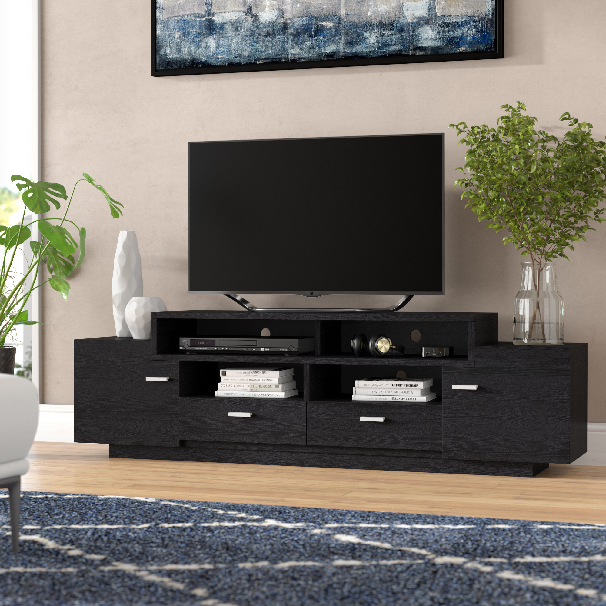 "Wade Logan Aston Tv Stand For Tvs Up To 70"" & Reviews 