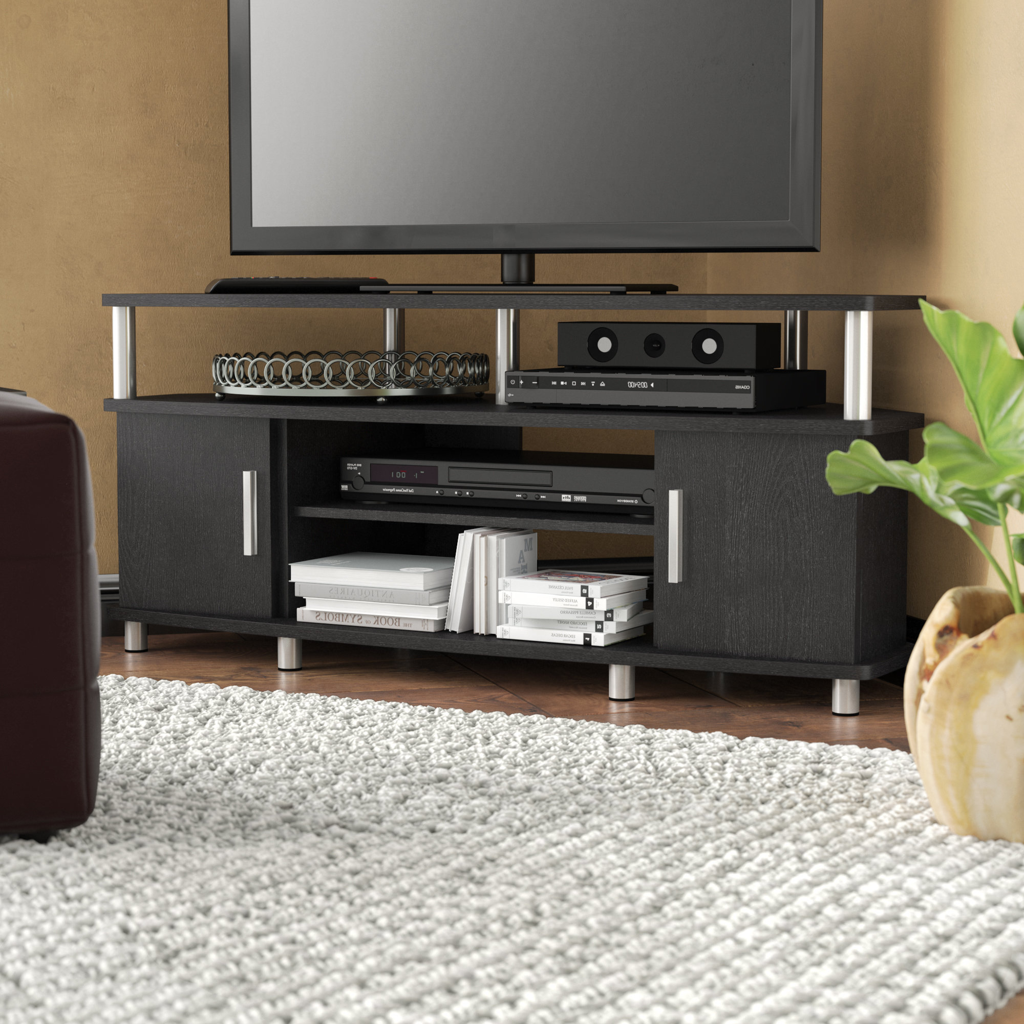 "Wade Logan Mendoza Tv Stand For Tvs Up To 50"" & Reviews 