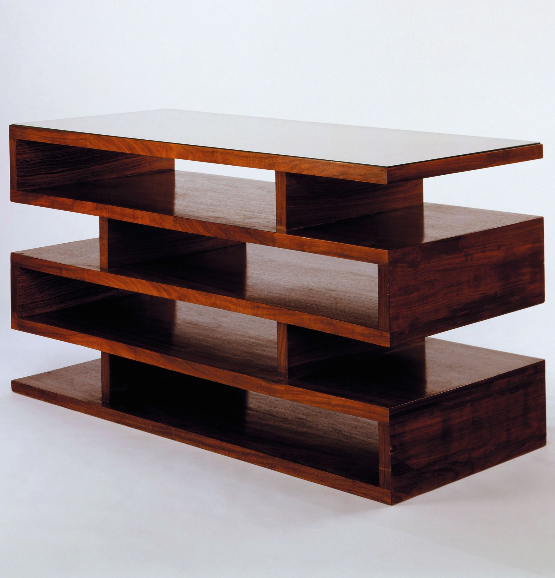 Walter Gropius; Newspaper Shelves, 1923. | Shelved | Bauhaus In Walters Media Console Tables (Gallery 15 of 20)