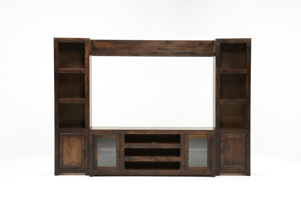 Walton 4 Piece Entertainment Center | Living Spaces With Lauderdale 74 Inch Tv Stands (View 20 of 20)