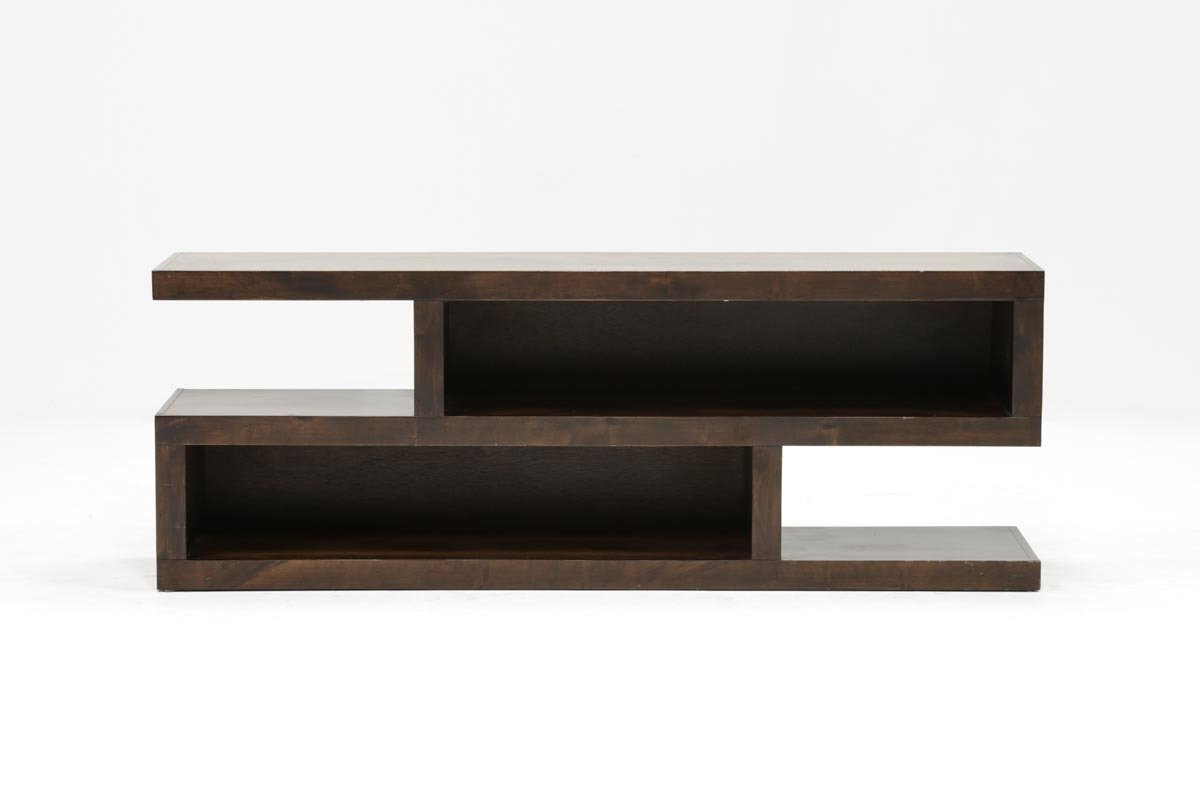 Walton 74 Inch Open Tv Stand | Living Spaces With Wakefield 67 Inch Tv Stands (View 3 of 20)
