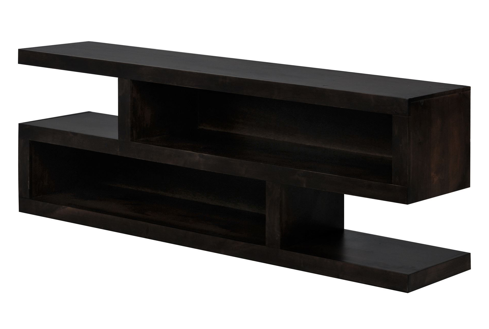 "Walton 74"" Open Tv Console–Living Spaces 