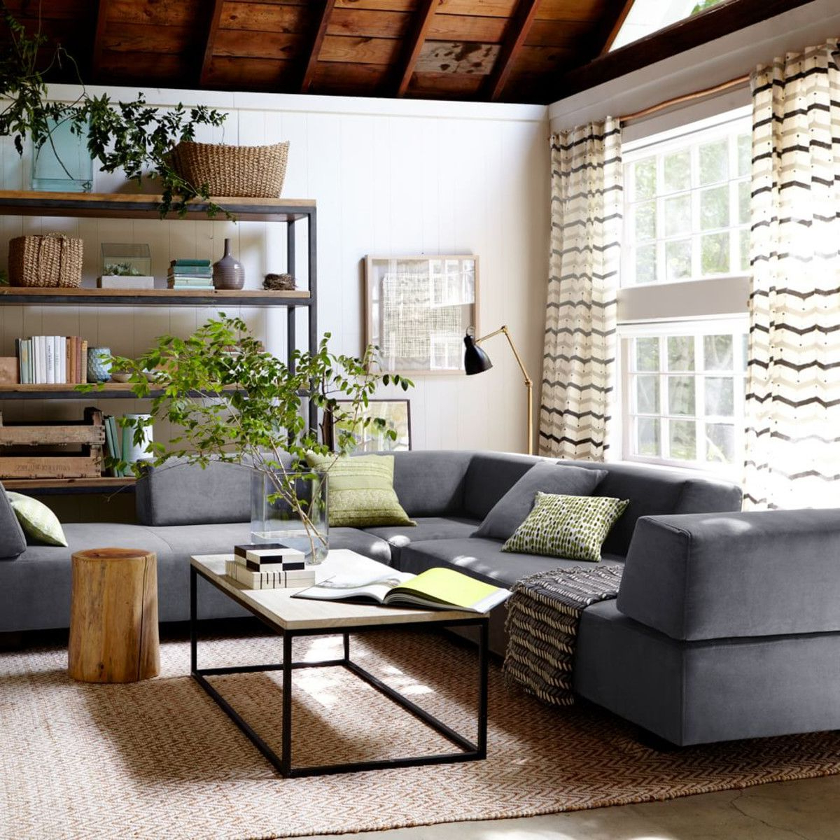 West Elm Tillary – This Layout Might Work Too – Pull Away From The With Regard To Mikelson Media Console Tables (View 15 of 20)