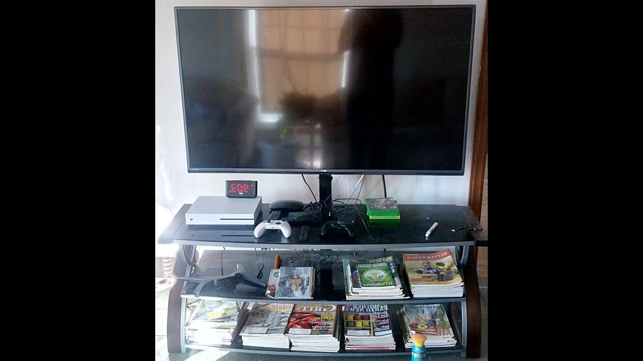 """Whalen 3 In 1 Tv Stand """"review"""" – Youtube Intended For Jaxon 65 Inch Tv Stands (Gallery 18 of 20)"""