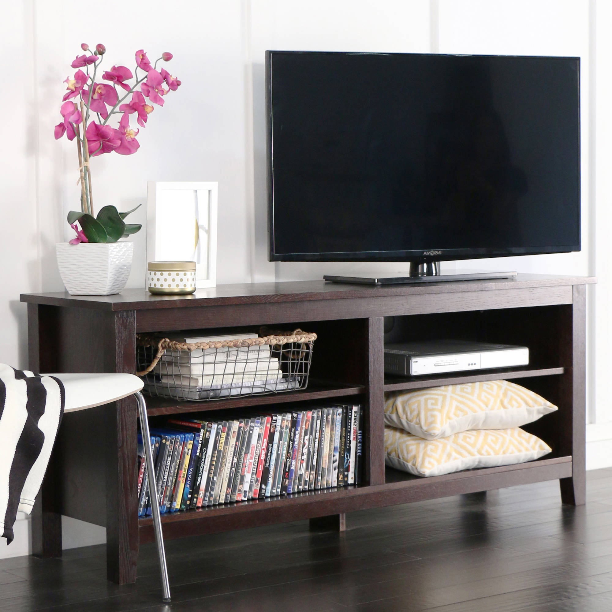 Whalen Media Fireplace For Your Home Television Stand Fits Tvs Up To In Walton 72 Inch Tv Stands (View 11 of 20)