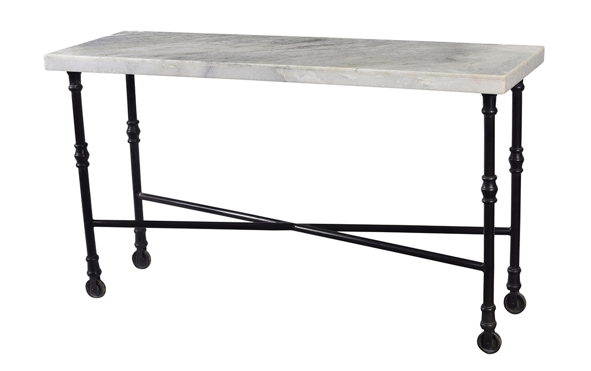 White Marble Top Sofa Table – Table Designs Regarding Parsons White Marble Top & Stainless Steel Base 48X16 Console Tables (View 20 of 20)