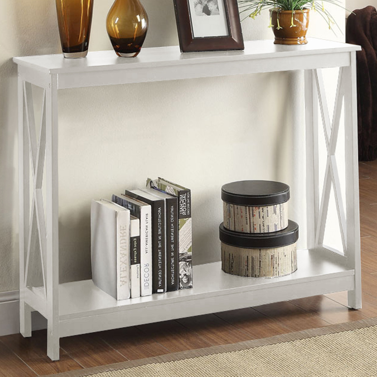 White Washed Console Table | Wayfair Within Hand Carved White Wash Console Tables (View 8 of 20)