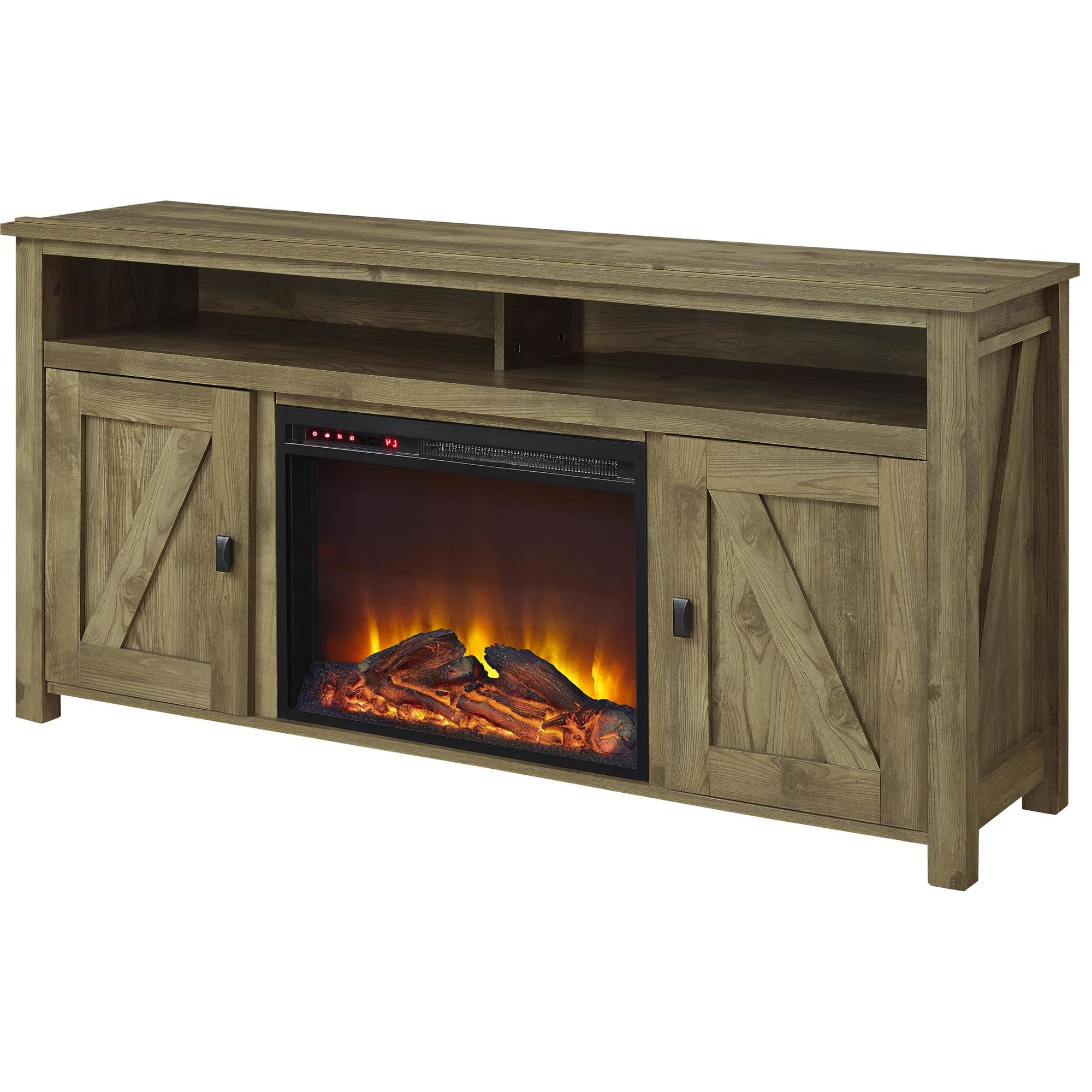 """Whittier Tv Stand For Tvs Up To 60"""" With Fireplace & Reviews 