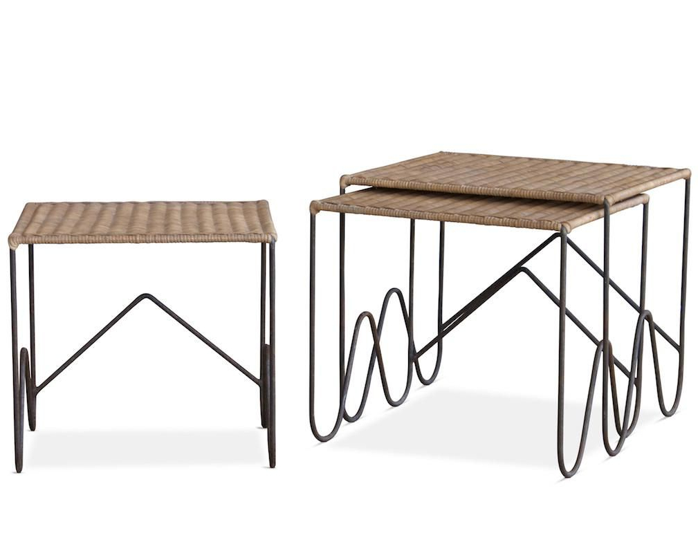 Featured Photo of Scattered Geo Console Tables