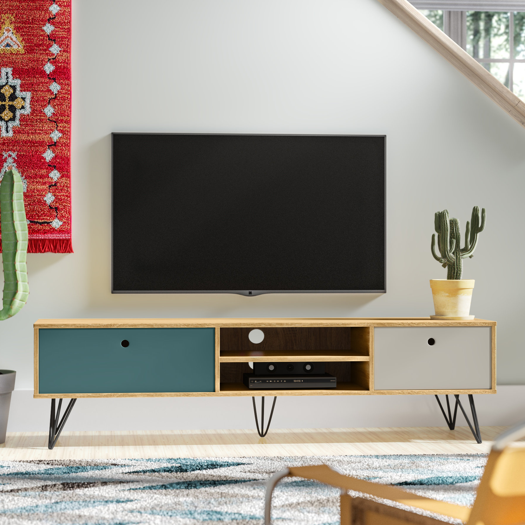 Wide Tv Stand | Wayfair.co (View 16 of 20)