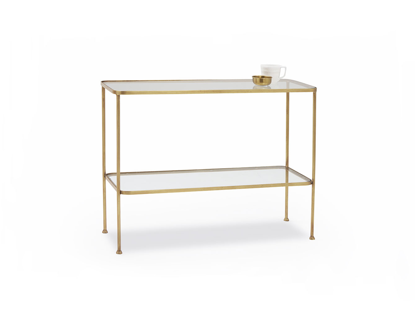 Wonder Full Console Table | Brass And Glass Console Table | Loaf Throughout Roman Metal Top Console Tables (View 13 of 20)