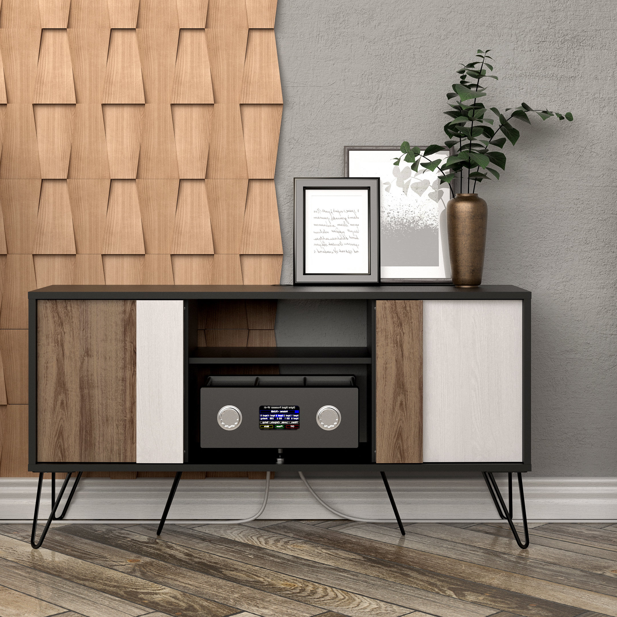 """Wrought Studio Connolly Tv Stand For Tvs Up To 60"""" & Reviews 