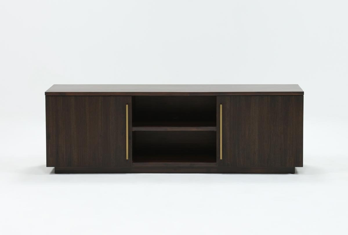 Wyatt 68 Inch Tv Stand | Living Spaces With Bale Rustic Grey 82 Inch Tv Stands (View 3 of 20)