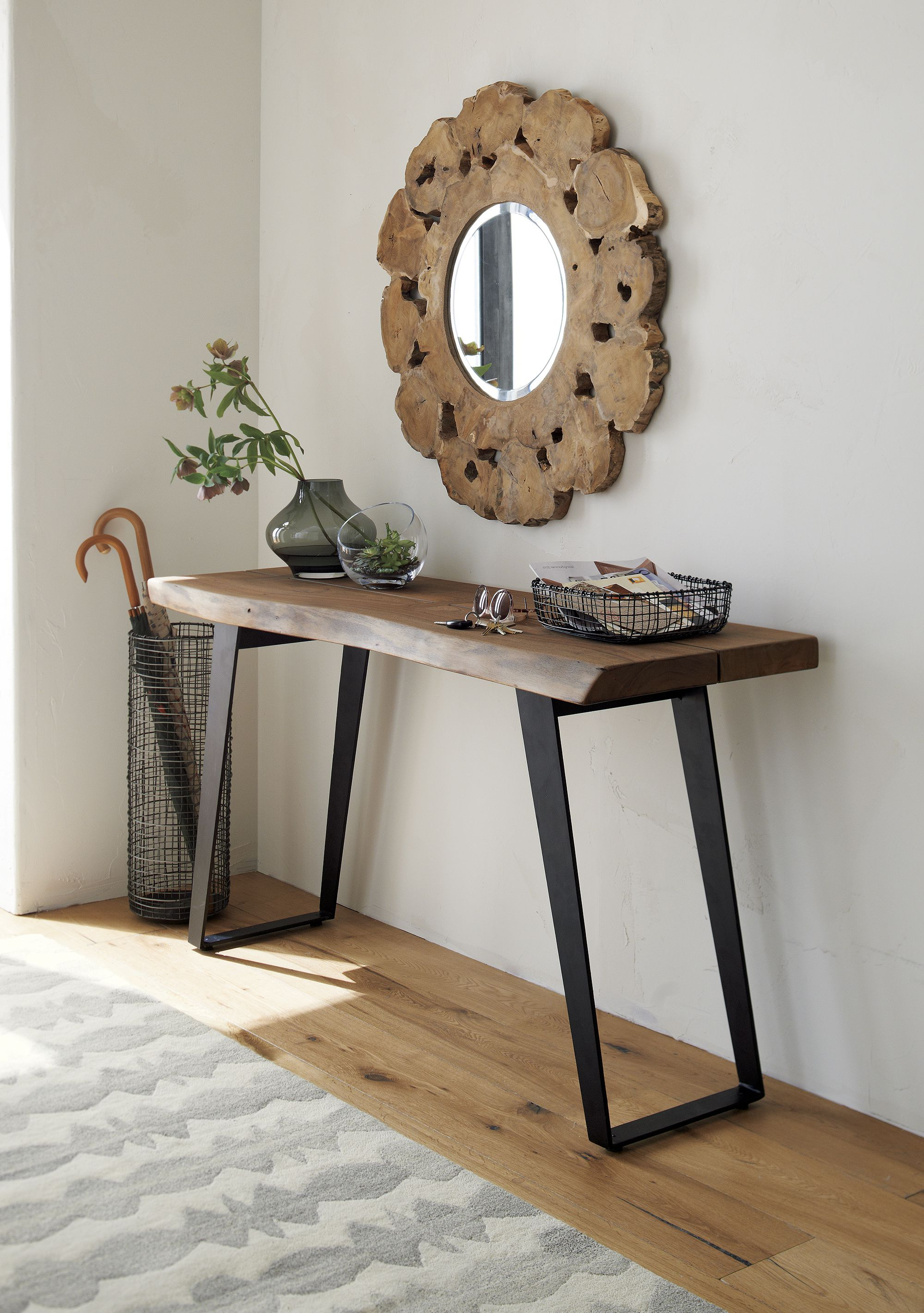Yukon Console Table | Salon | Pinterest | Acacia Wood, Acacia And Plank Intended For Yukon Natural Console Tables (View 18 of 20)