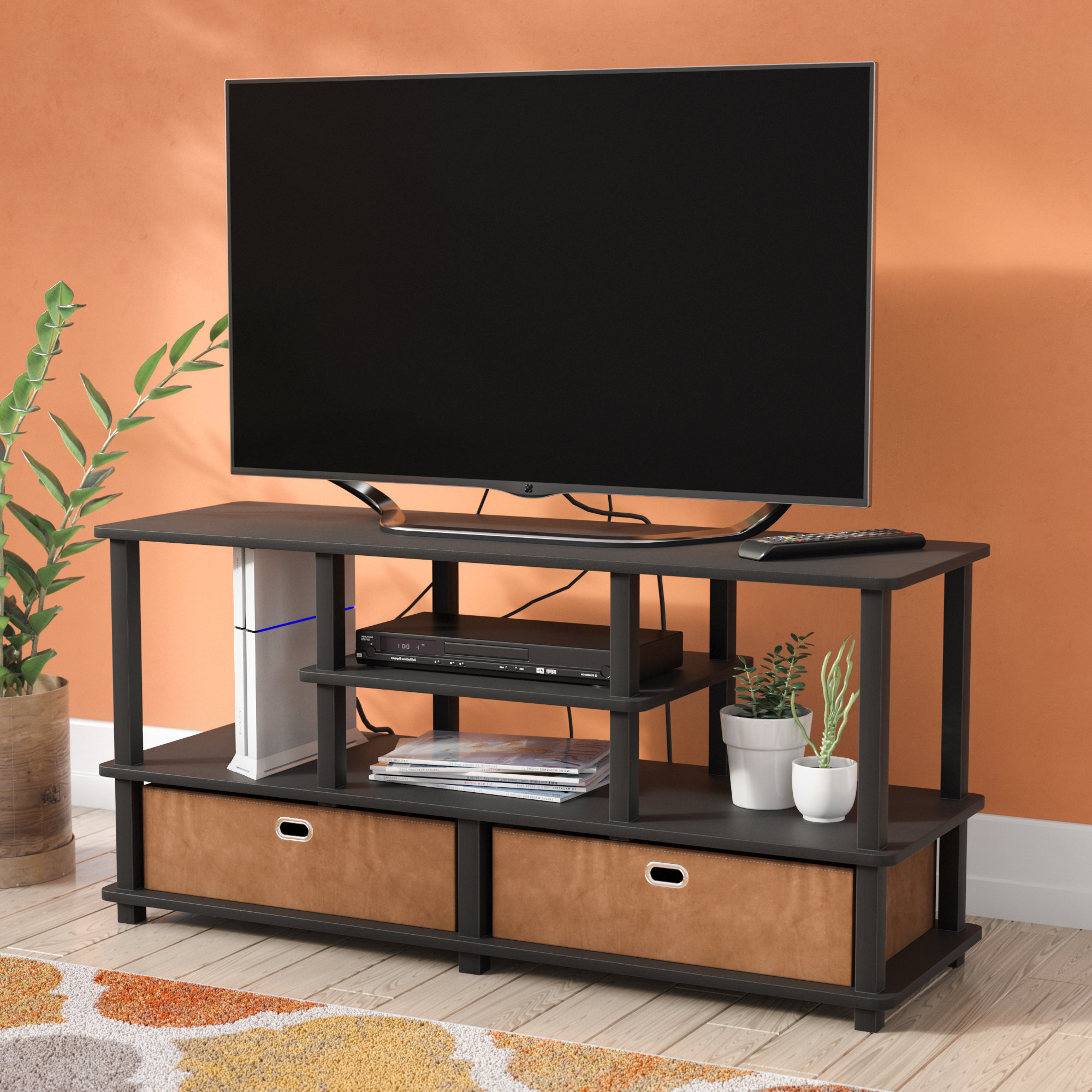 """Zipcode Design Crow Tv Stand For Tvs Up To 50"""" & Reviews 