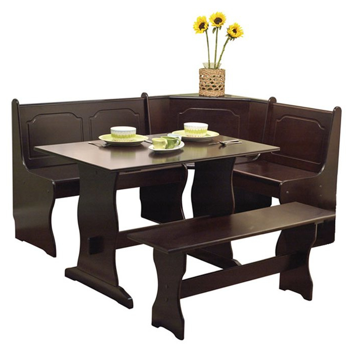 2019 3 Piece Dining Sets Throughout Delano 3 Piece Dining Set & Reviews (View 2 of 20)