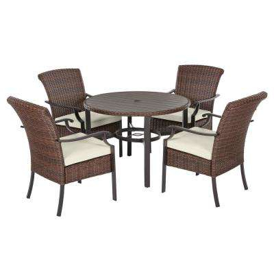2019 Bate Red Retro 3 Piece Dining Sets Within Bar Height – Patio Dining Sets – Patio Dining Furniture – The Home Depot (View 1 of 20)