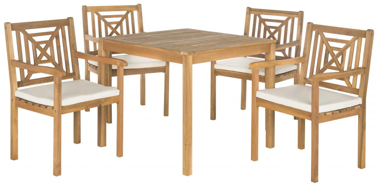 2019 Delmar 5 Piece Dining Sets Inside Pat6722A Patio Sets – 5 Piece Outdoor Dining Sets – Furniture (View 2 of 20)