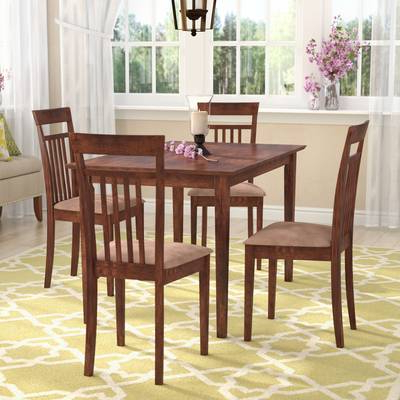 2020 Baxton Studio Keitaro 5 Piece Dining Sets For Wholesale Interiors Baxton Studio Keitaro 5 Piece Dining Set (View 1 of 20)