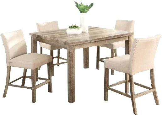 2020 Counter Height Dining Table Set 5 Piece – Jamierasmus Intended For Noyes 5 Piece Dining Sets (Gallery 20 of 20)