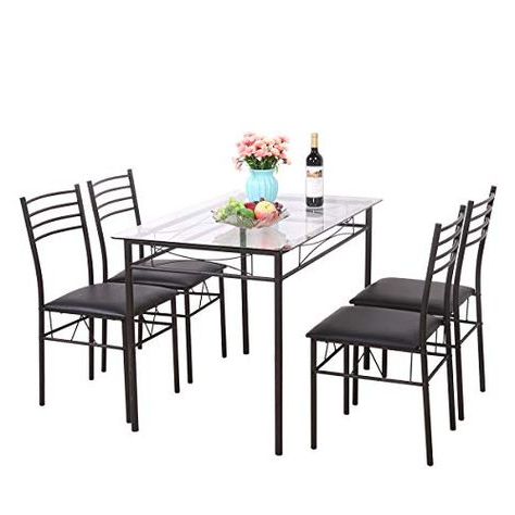2020 Fleur De Lis Living Shipststour 5 Piece Dining Set (Gallery 15 of 20)